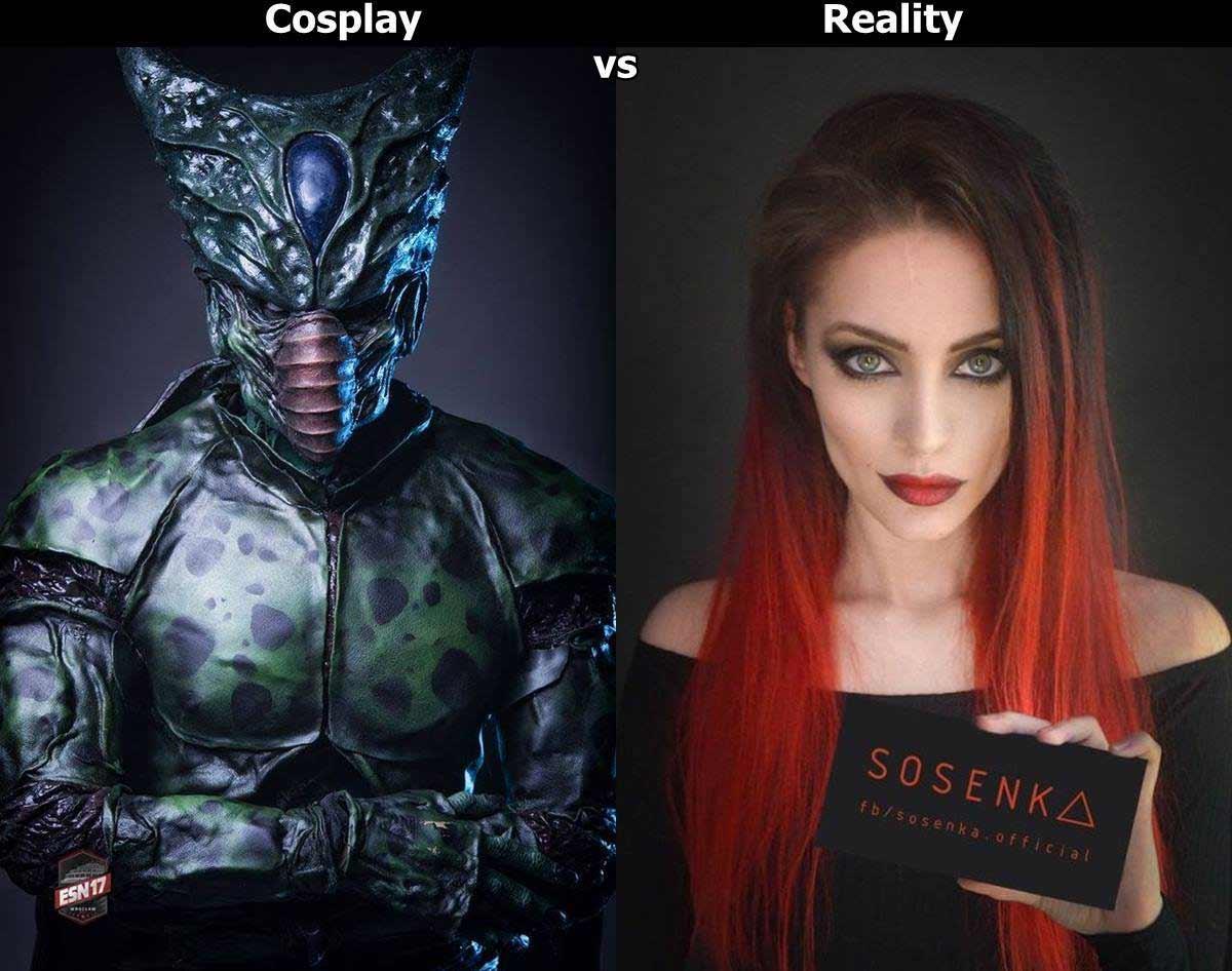 Cosplayerin Justyna Sosnowska kann sich in alles und jeden verwandeln sosenka-cosplay_04