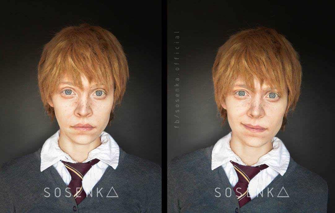 Cosplayerin Justyna Sosnowska kann sich in alles und jeden verwandeln sosenka-cosplay_05