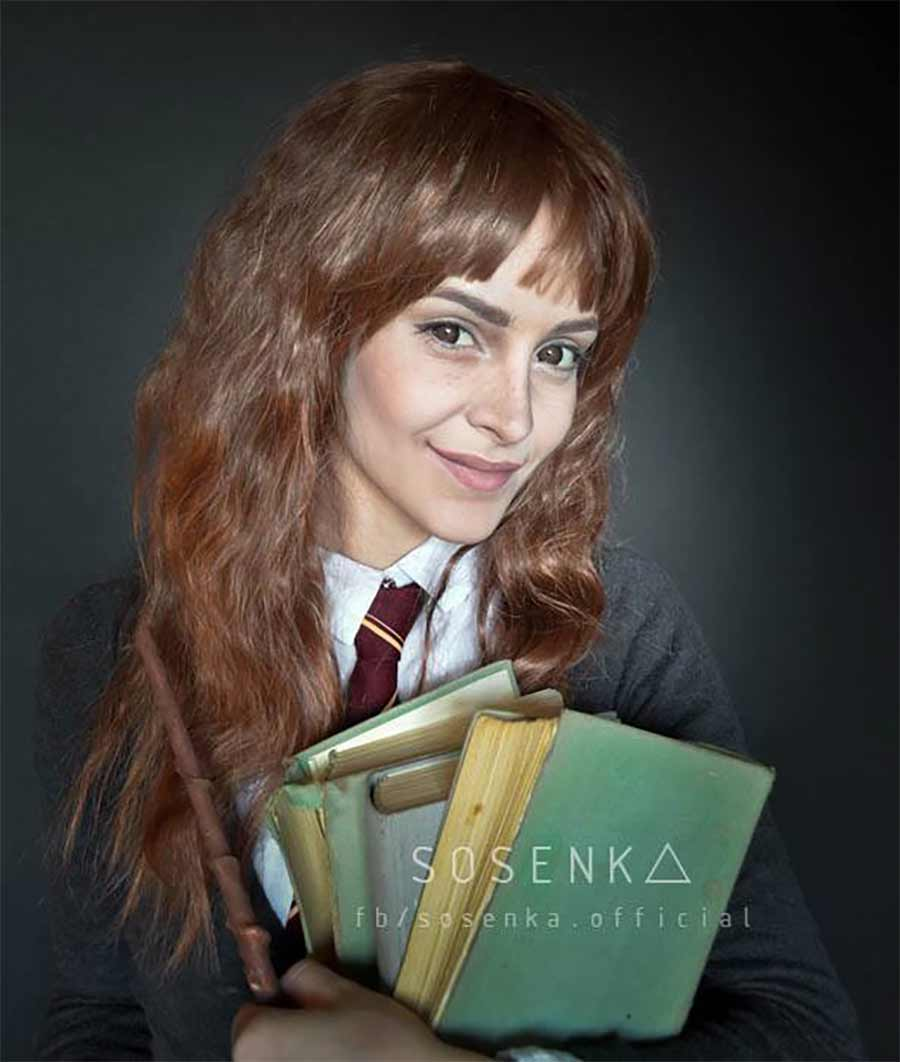 Cosplayerin Justyna Sosnowska kann sich in alles und jeden verwandeln sosenka-cosplay_06