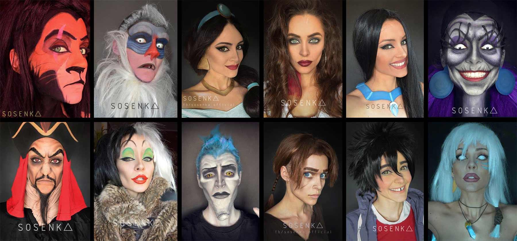 Cosplayerin Justyna Sosnowska kann sich in alles und jeden verwandeln sosenka-cosplay_09
