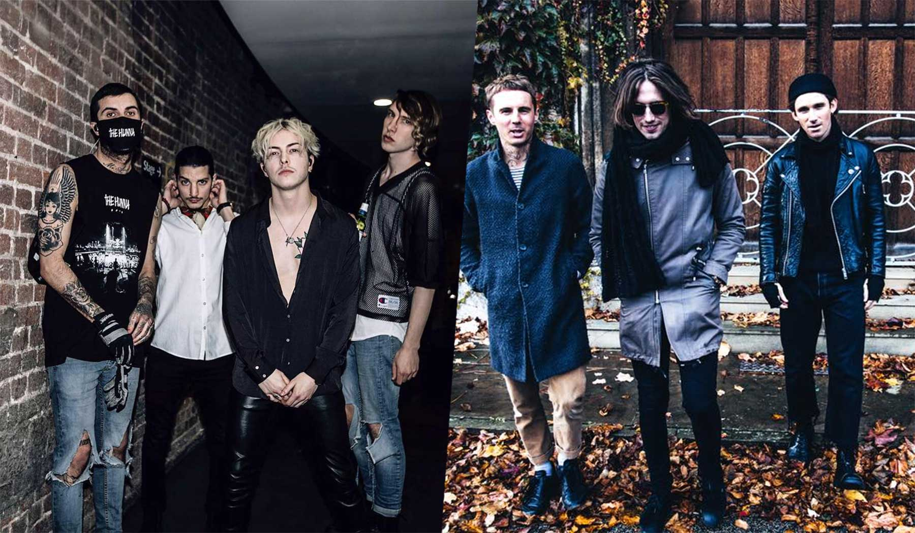 The Hunna & Coasts spielen vier Shows in Deutschland