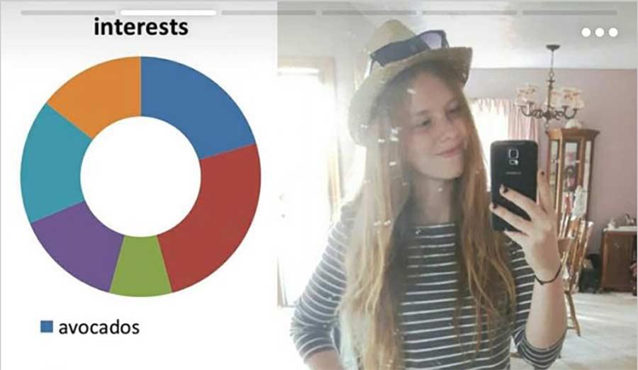 Powerpoint über sich selbst als Tinder-Profil