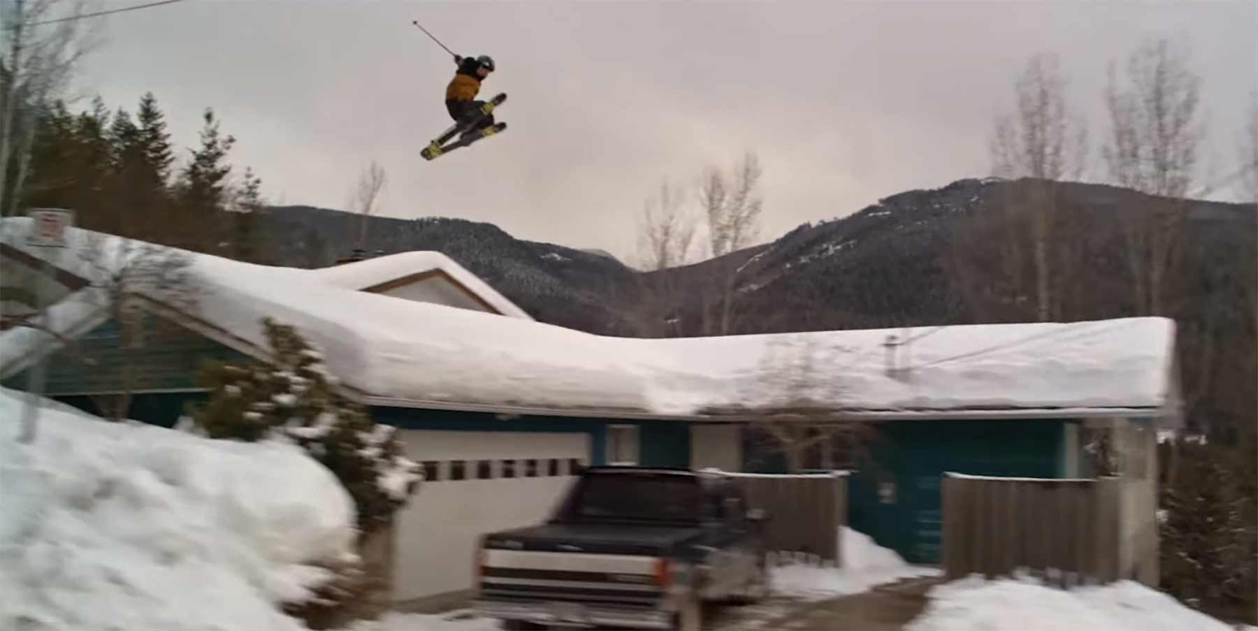 Fantasievolle Street Ski-Einlage von Tom Wallisch