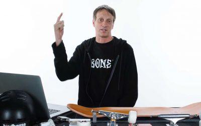Tony Hawk beantwortet Skateboard-Fragen von Twitter