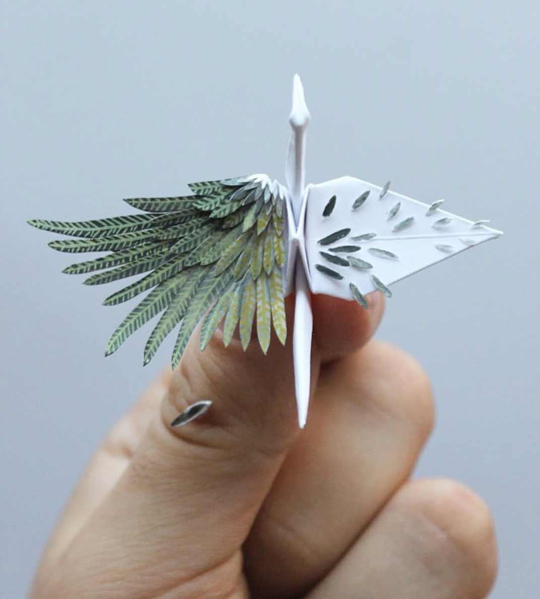 1.000 Origami-Kraniche Cristian-Marianciuc-origami-papierkraniche_02