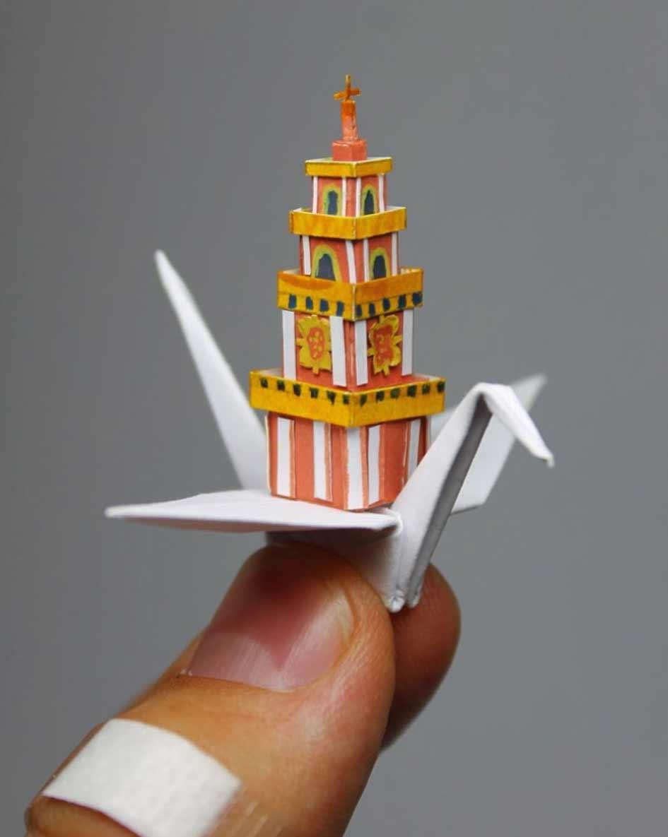 1.000 Origami-Kraniche Cristian-Marianciuc-origami-papierkraniche_03