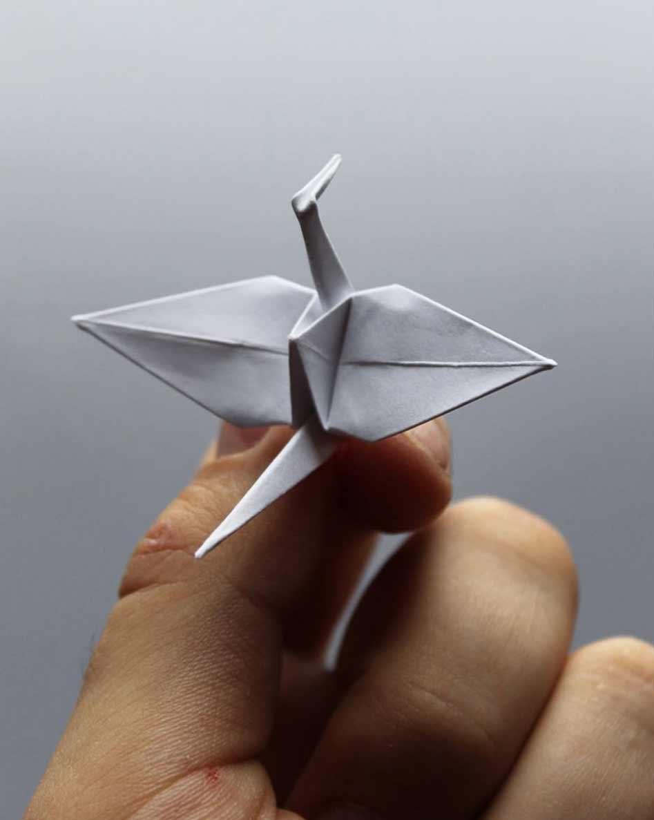 1.000 Origami-Kraniche Cristian-Marianciuc-origami-papierkraniche_04