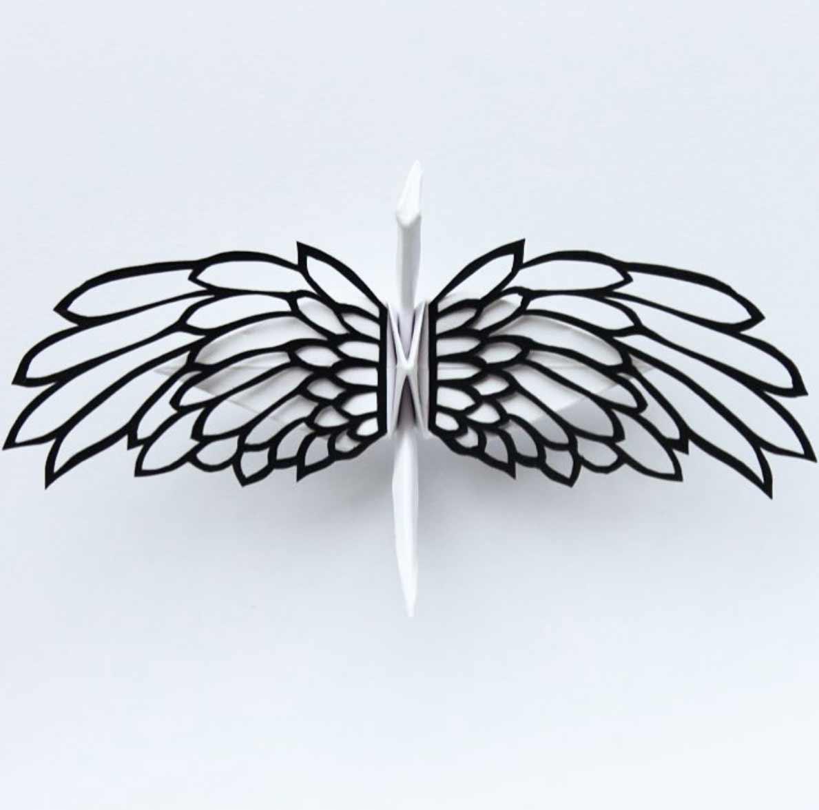 1.000 Origami-Kraniche Cristian-Marianciuc-origami-papierkraniche_08