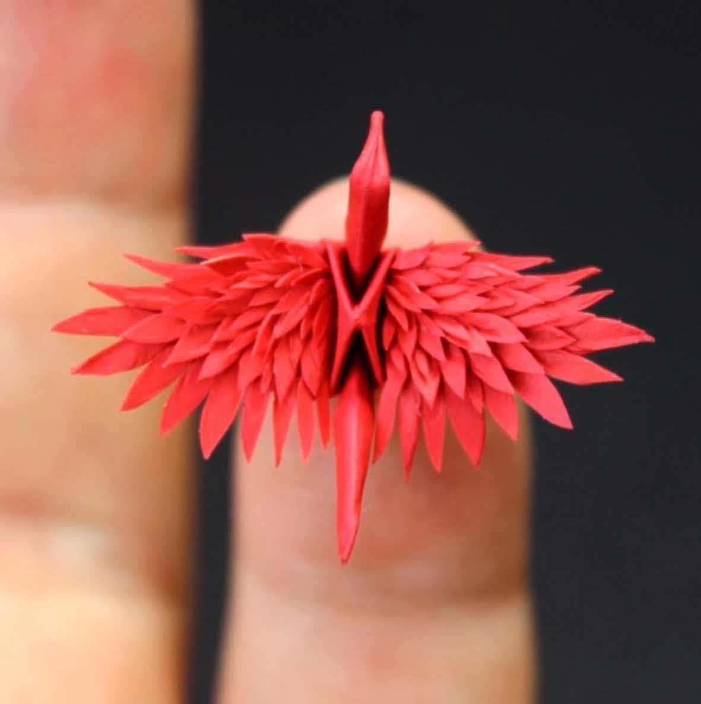1.000 Origami-Kraniche Cristian-Marianciuc-origami-papierkraniche_09