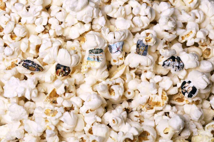 Filmmotive auf Popcorn gemalt Hasan-Kale-popcornmalerei_06
