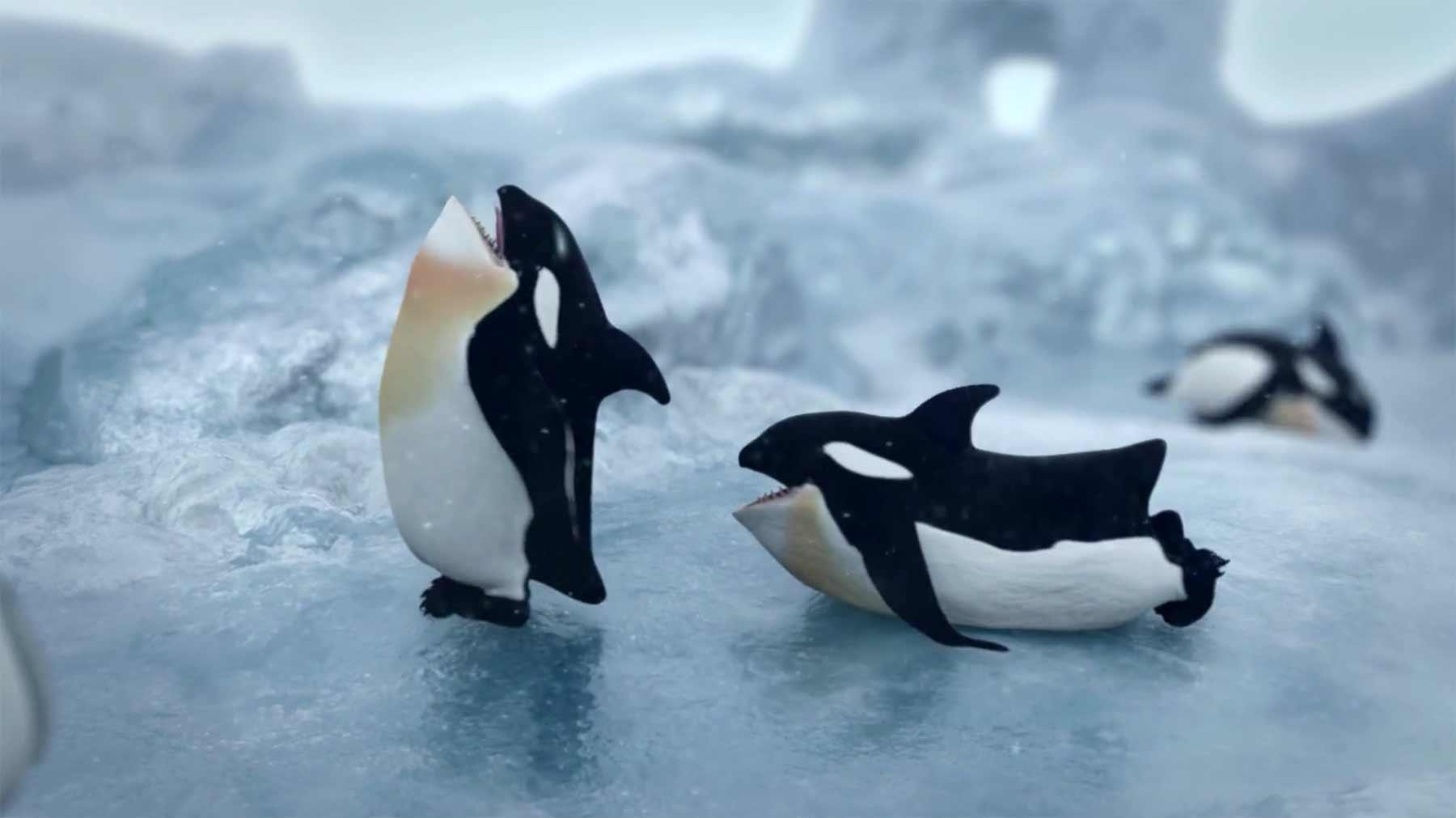 Ein Zoo voller Tierhybride Hybris-tierhybride
