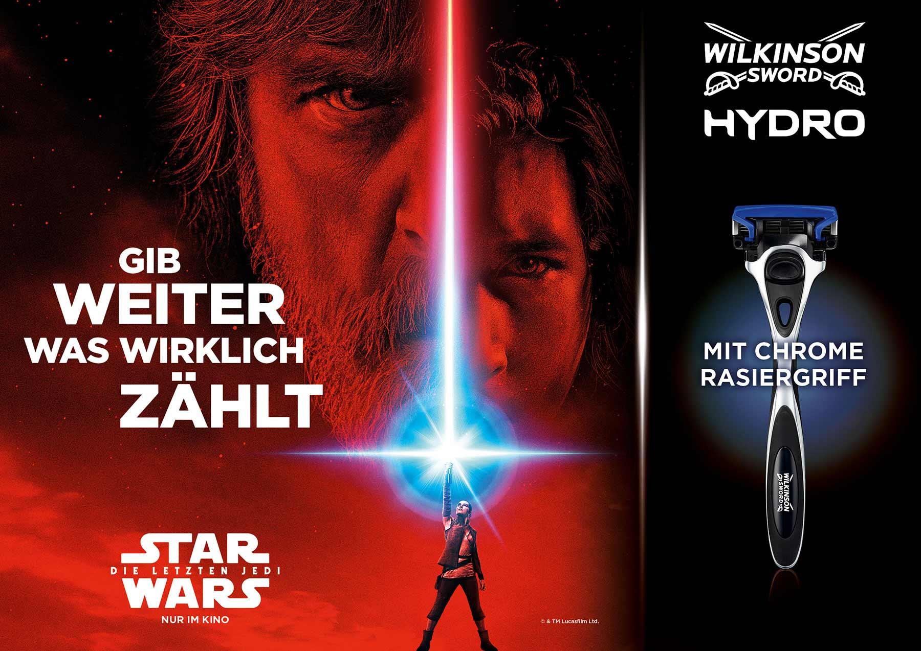 Gewinnt STAR WARS Special Edition-Rasierer von Wilkinson Sword Wilkinson-STAR-WARS-HYDRO-Special-Edition_01