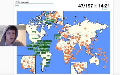 Alle Länder der Welt in unter 3 Minuten getippt