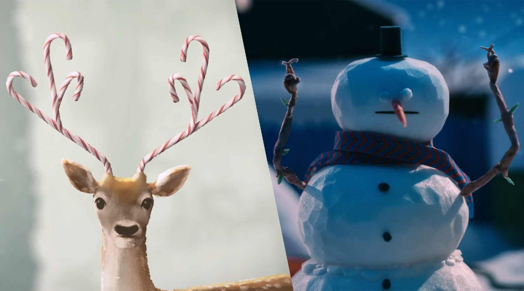 Die letzten Weihnachtsdinge sammeln