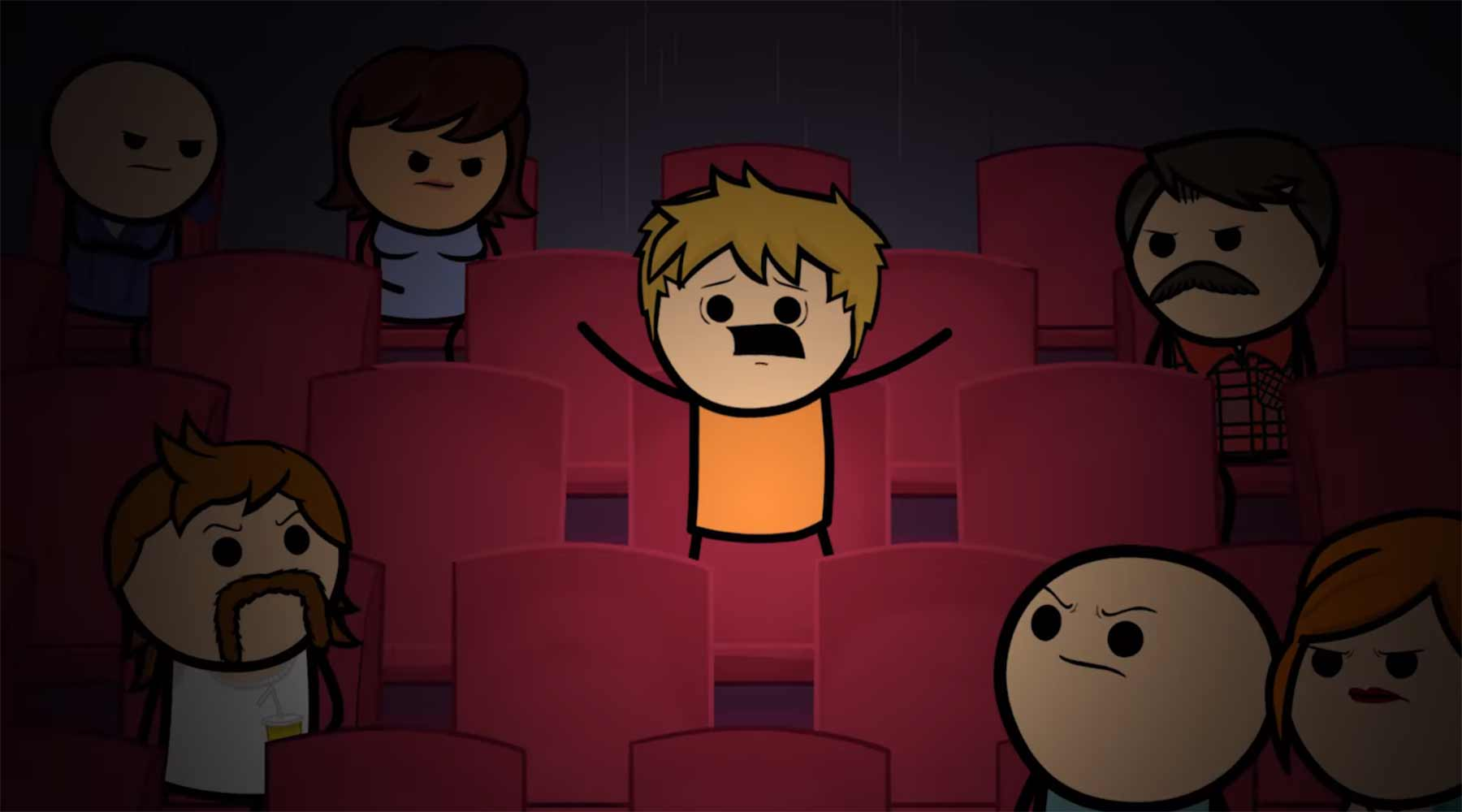 Cyanide & Happiness Shorts: Don't Talk cyanide-and-happiness-shorts-dont-talk