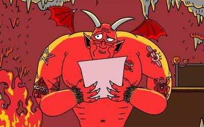 Wenn der Weihnachtsbrief bei Satan statt Santa landet