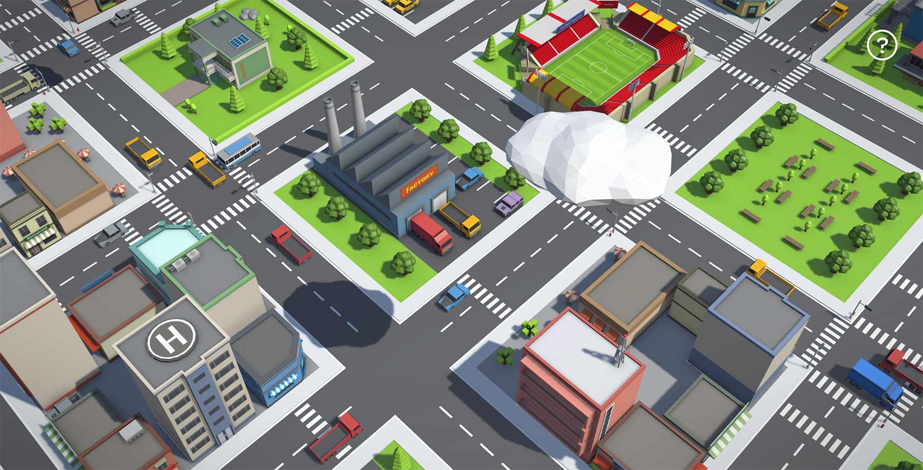 Eine unendliche Stadt in eurem Browser infinitown_01