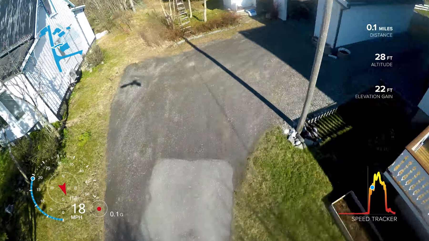 Möwe klaut GoPro und filmt Luftaufnahmen