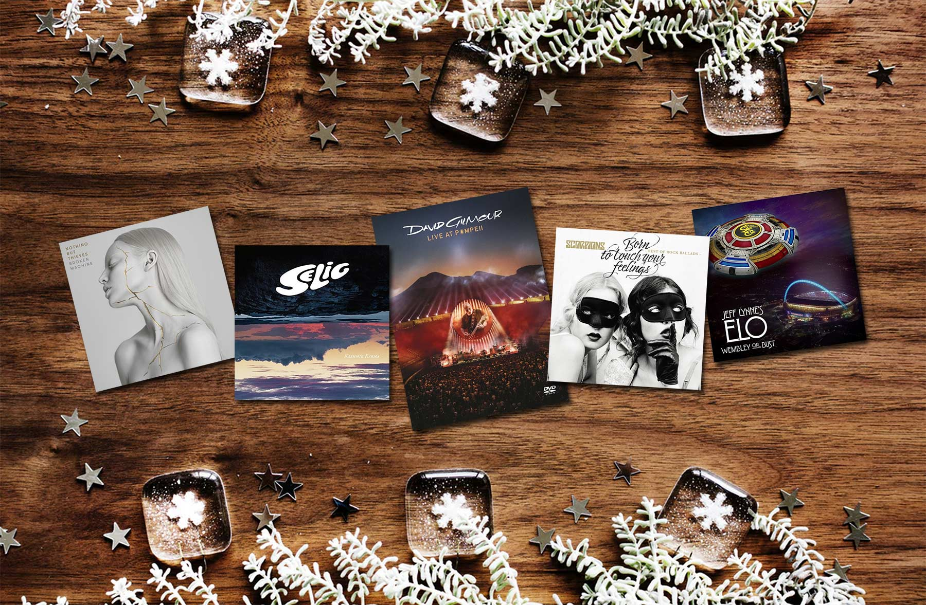 Nikolaus-Verlosung: Rockige Musik nikolausverlosung-sony-music-paket