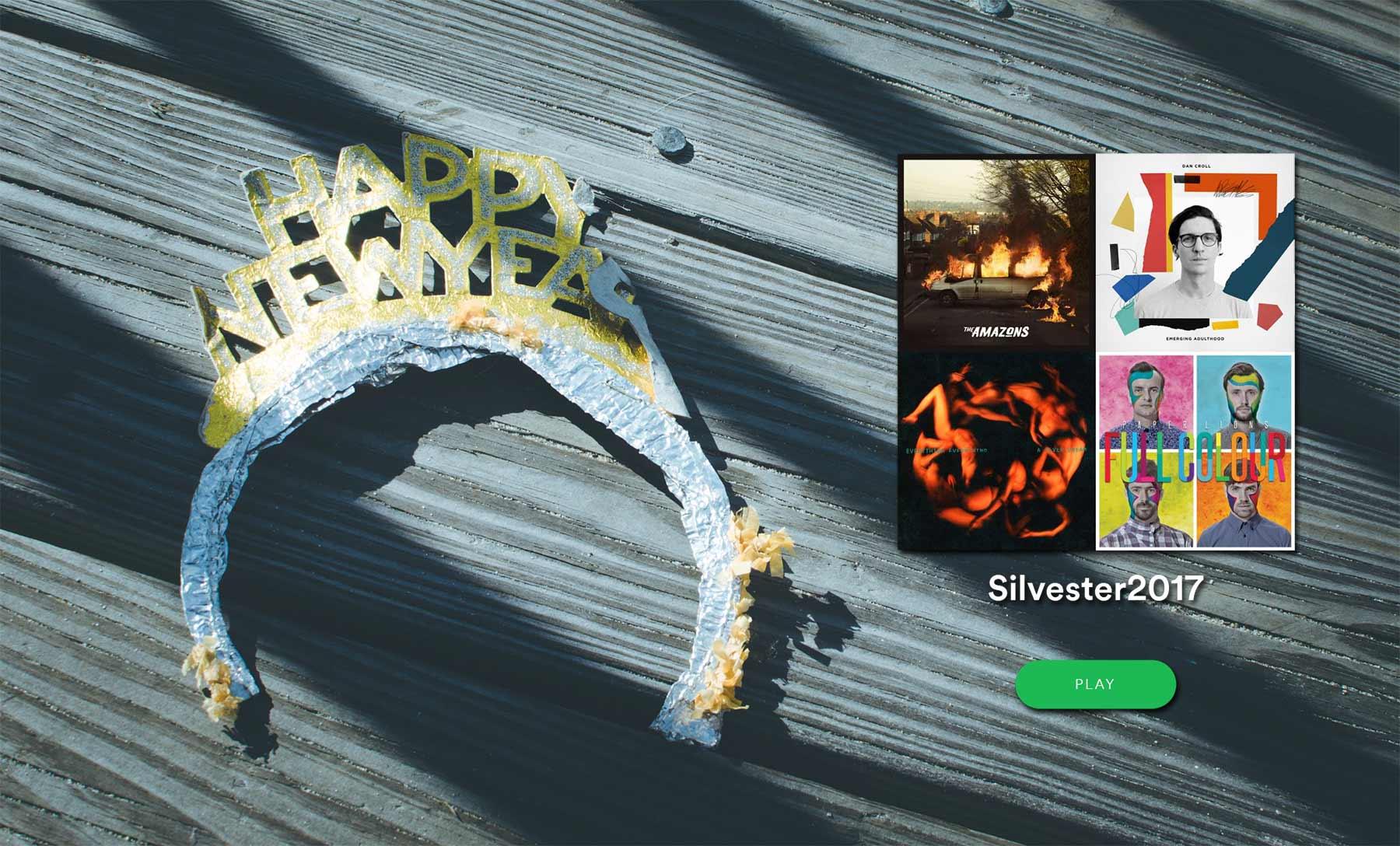 Playlist für eure Silvesterparty!