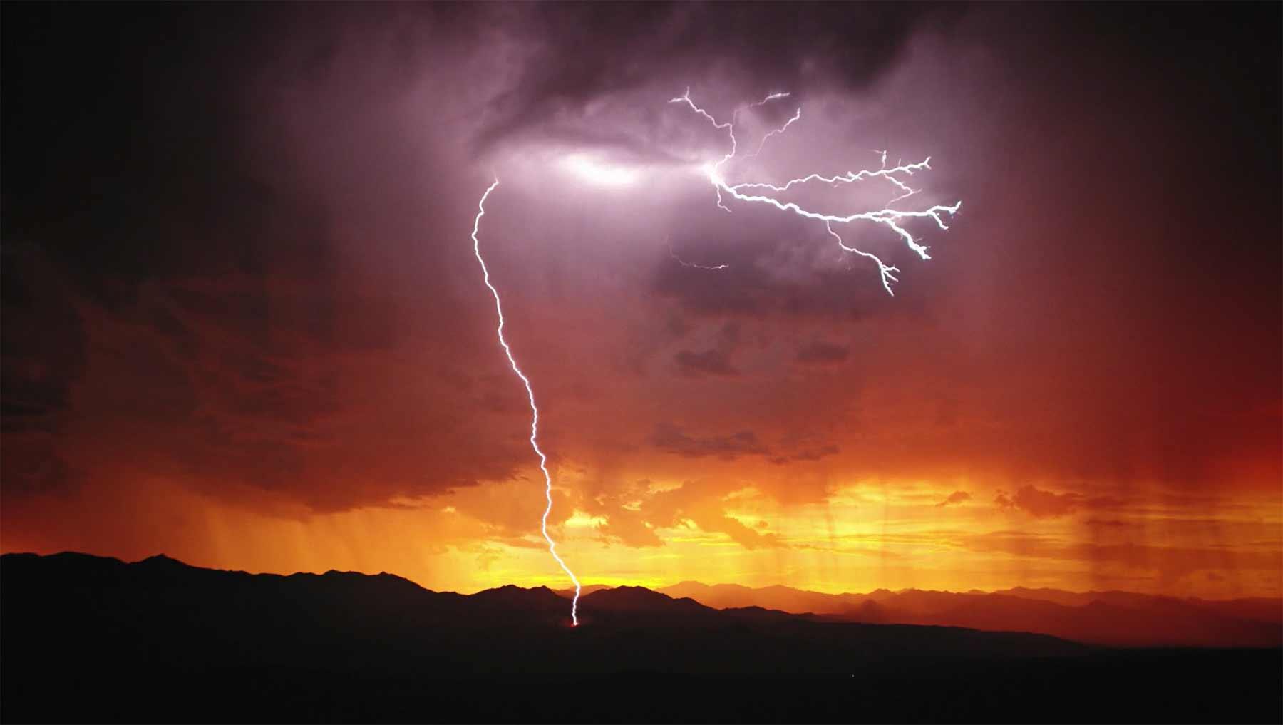 Blitze in Zeitlupe bewundern