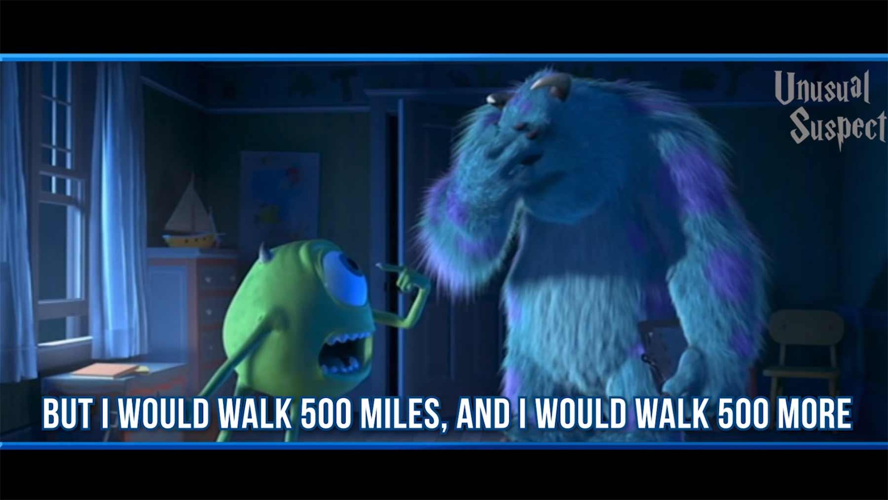 """""""I'm Gonna Be (500 Miles)"""" von 127 Filmen gesungen 500-miles-von-filmen-gesungen"""