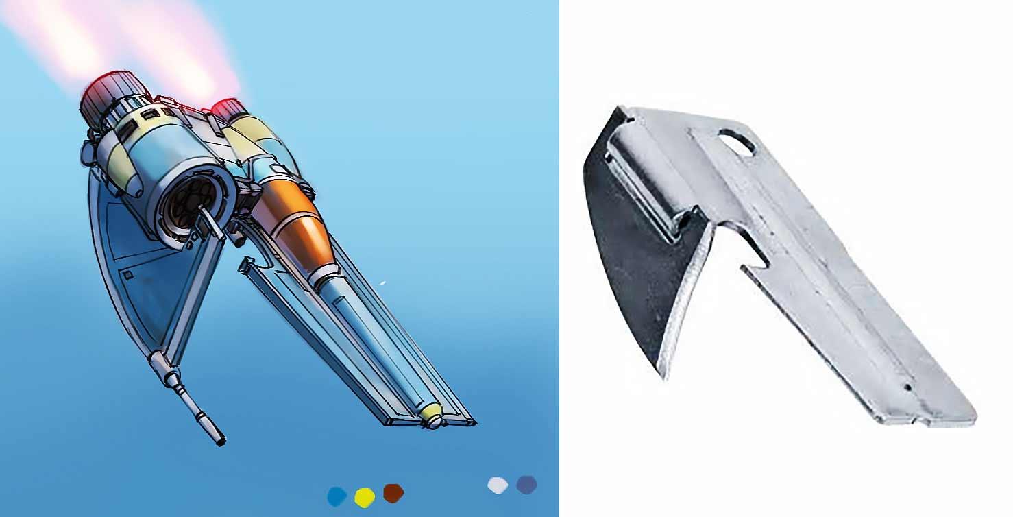 Aus langweiligen Alltagsgegenständen werden futuristische Raumschiffe Eric-Geusz_03