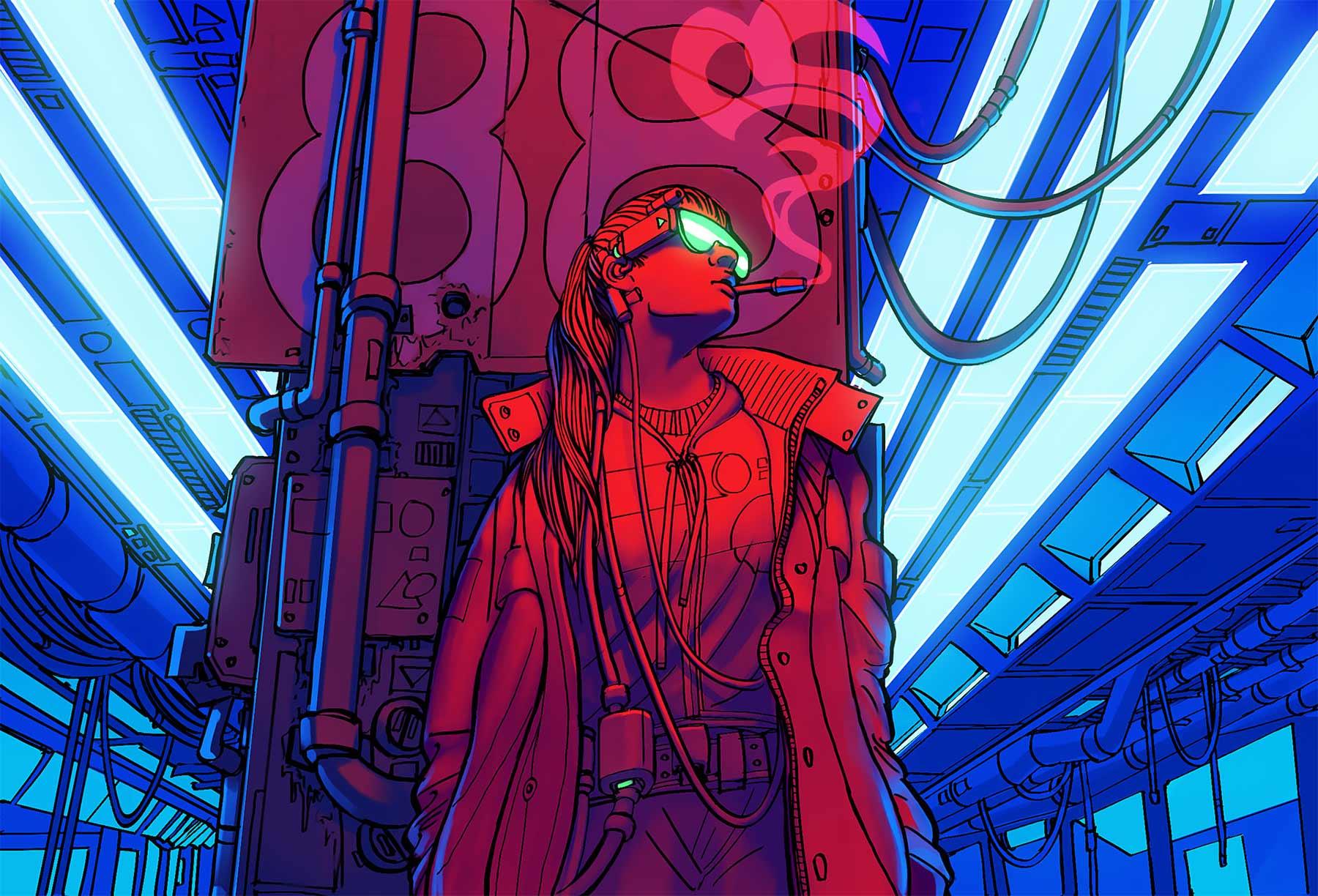 Aus langweiligen Alltagsgegenständen werden futuristische Raumschiffe Eric-Geusz_08