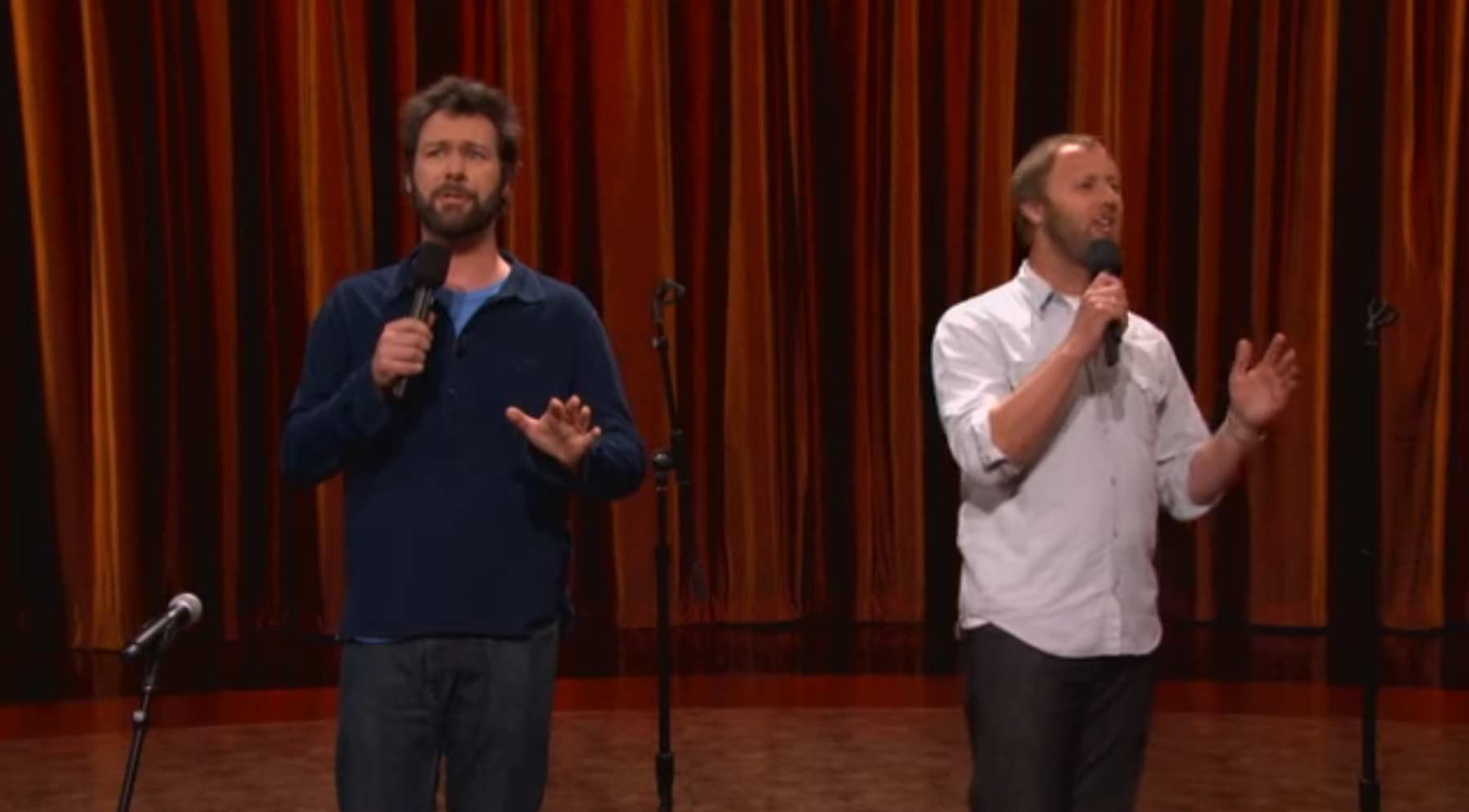 Wenn zwei Comedians gleichzeitig auftreten
