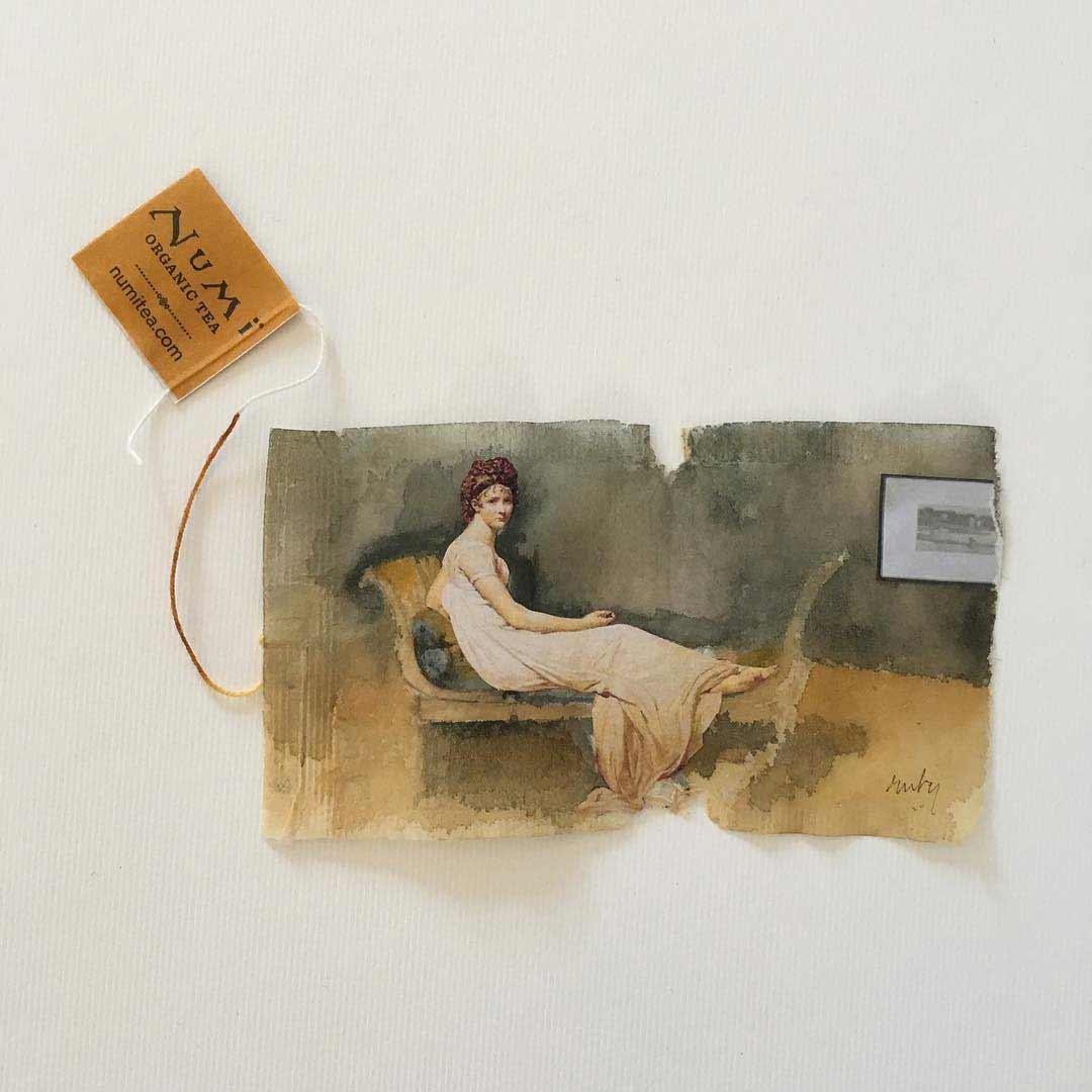 Teebeutel-Malerei von Ruby Silvious Ruby-Silvious-Teebeutelmalerei_02