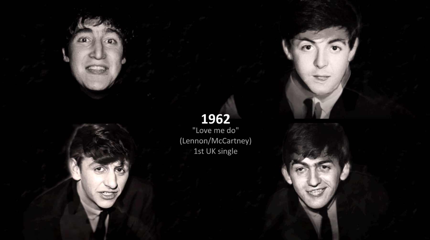 Wie sich die Beatles verändert haben