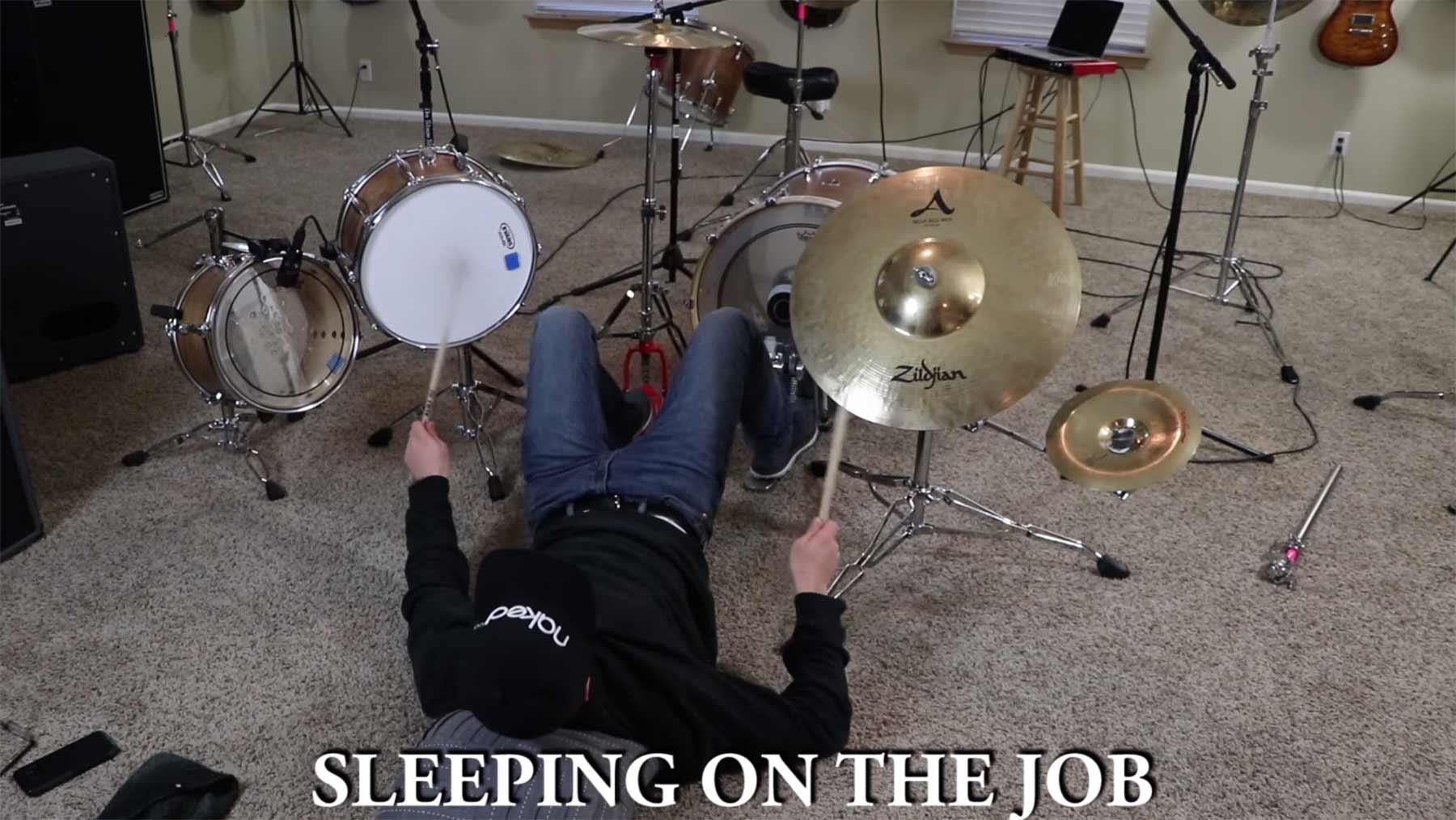Skurrile Arten, Schlagzeug zu spielen