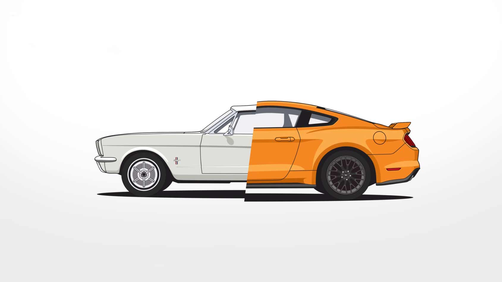 Evolution des Ford Mustang evolution-ford-mustang