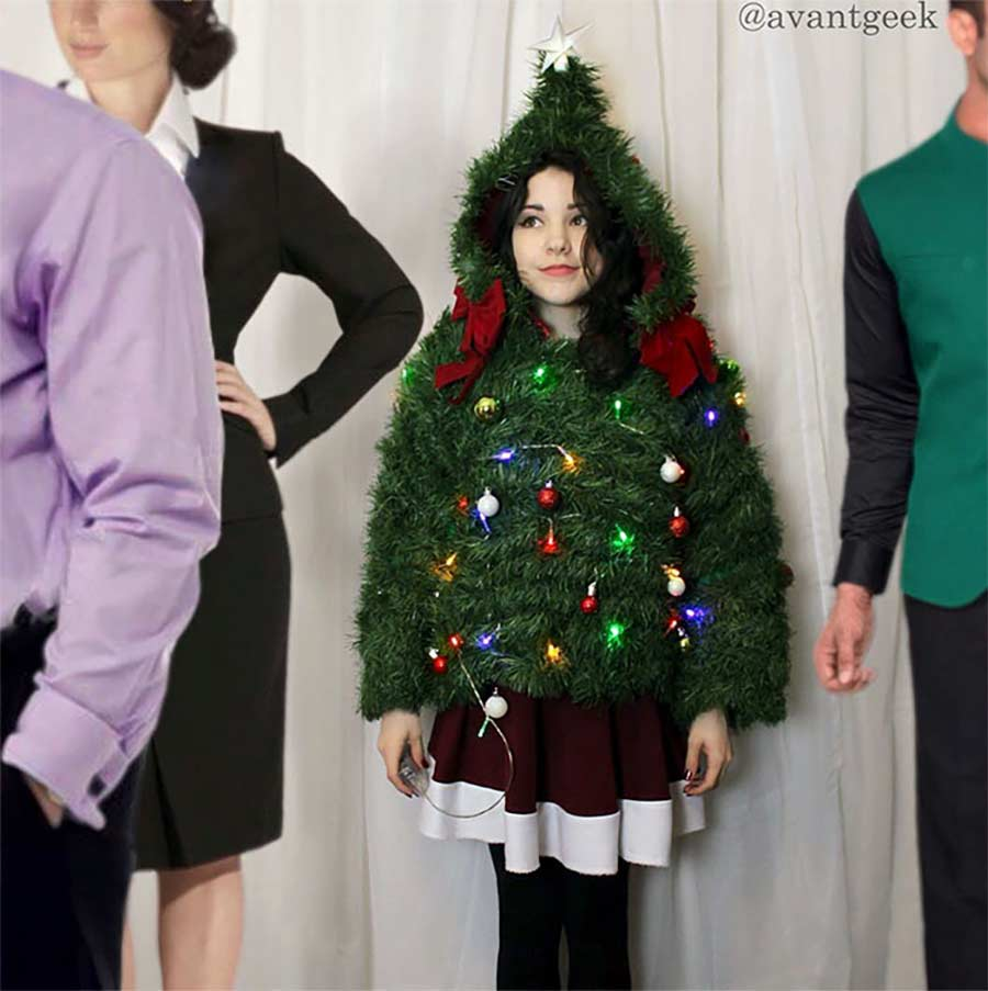 Kleider aus Geschenkpapier geschenkpapierkleider_07