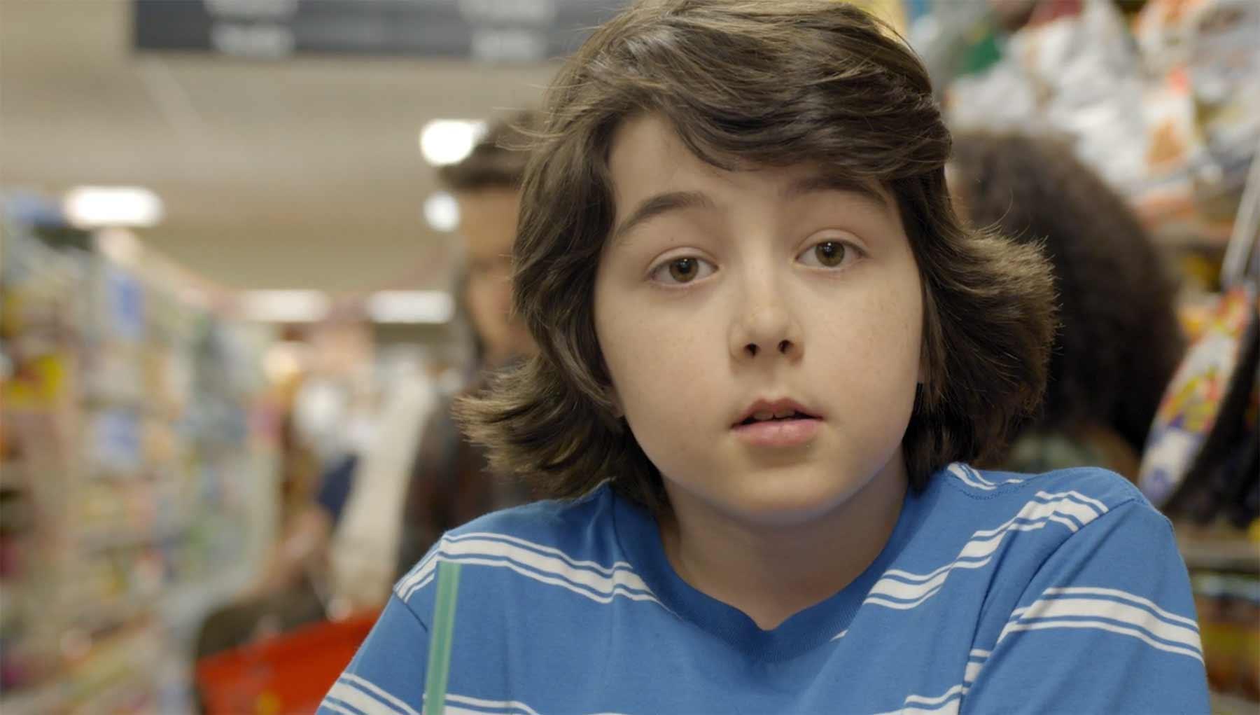 Die kindliche Fantasie beim Alleingelassenwerden an der Supermarktkasse kurzfilm-checkout