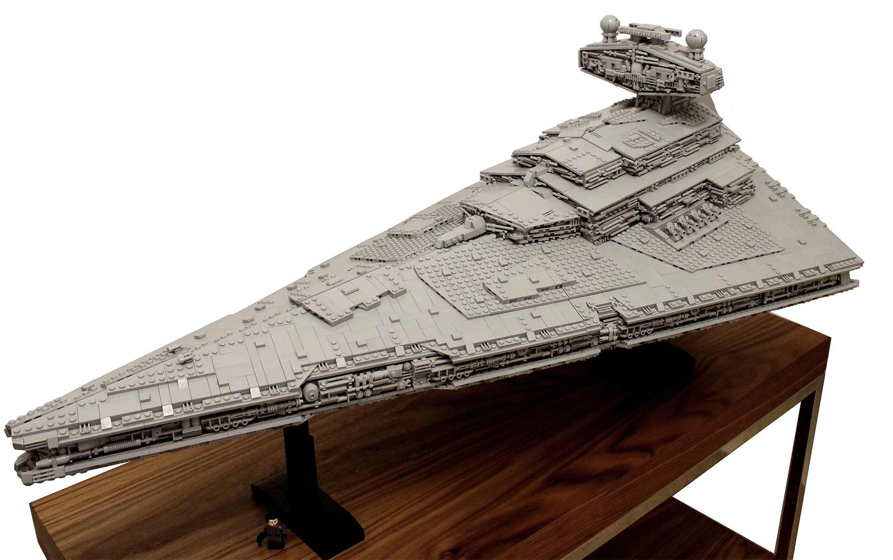 Gigantischer Sternzerstörer aus LEGO