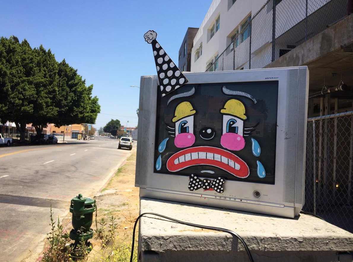 Trauriger Straßenmüll lonesome-town-clowngesichter_02