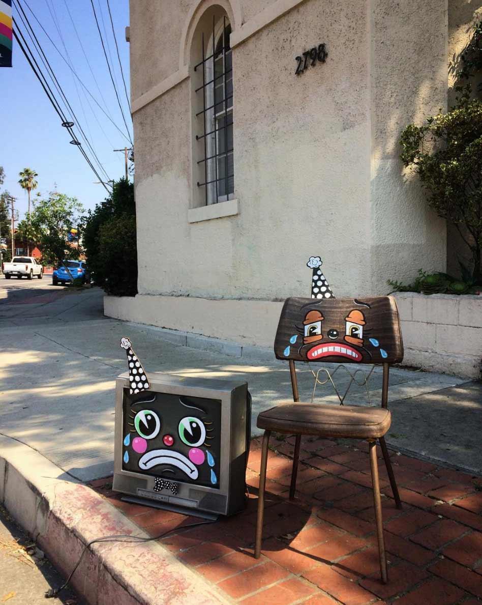 Trauriger Straßenmüll lonesome-town-clowngesichter_06