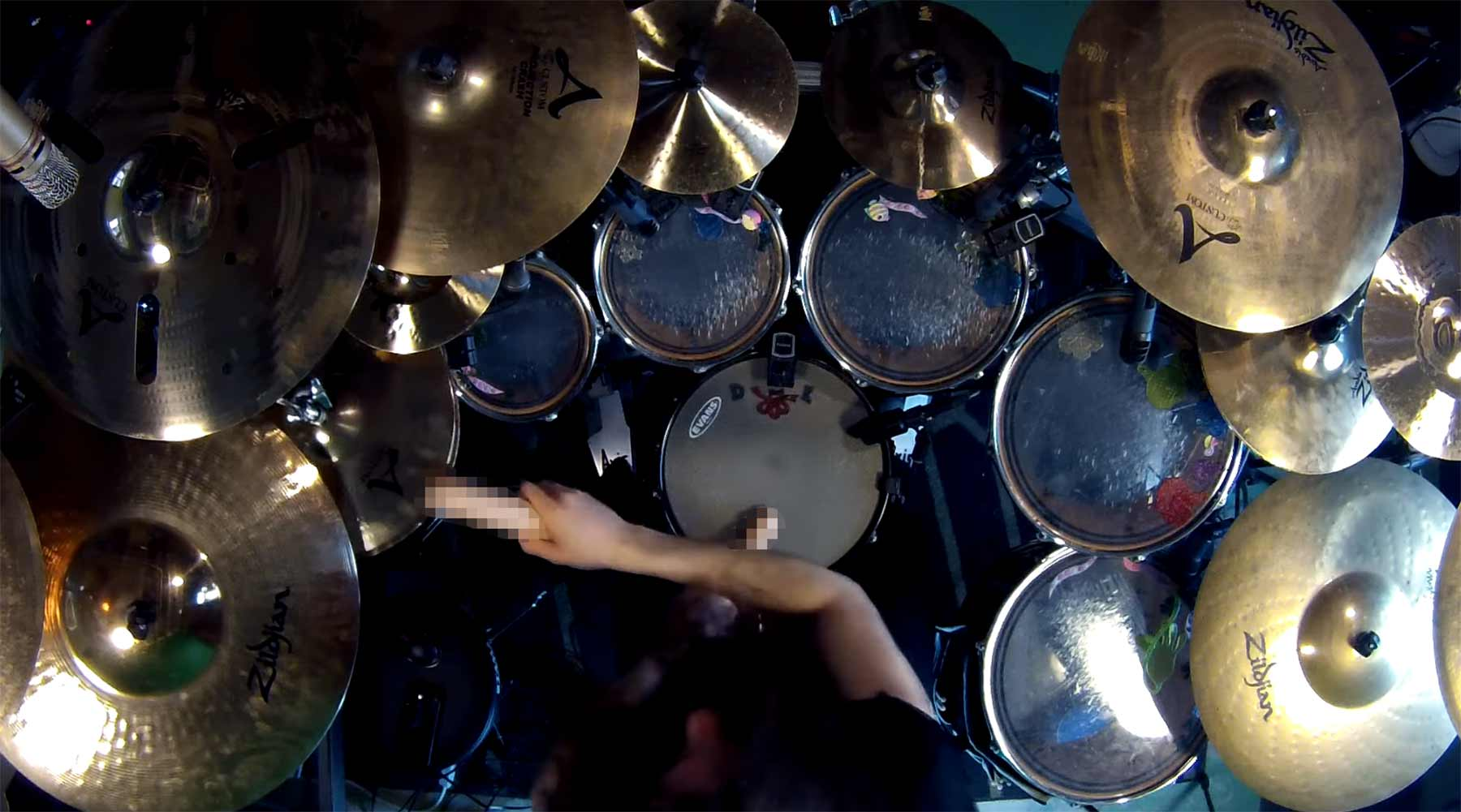 Enter Sandman Drum Cover mit Dildos metallica-enter-sandman-drum-dildo-cover