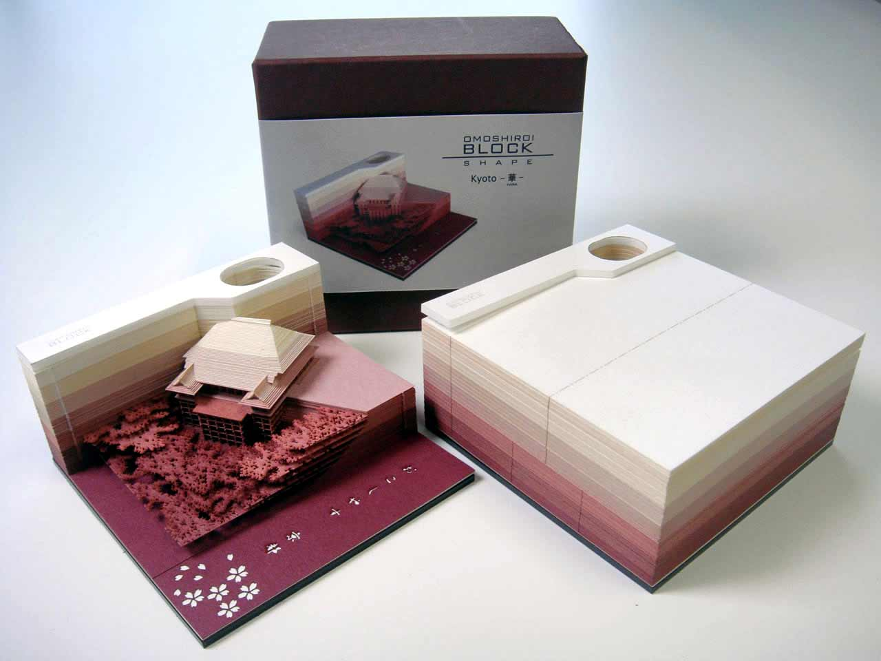 Diese Notizblöcke geben Blatt für Blatt eine Skulptur frei omoshiro-blocks_03