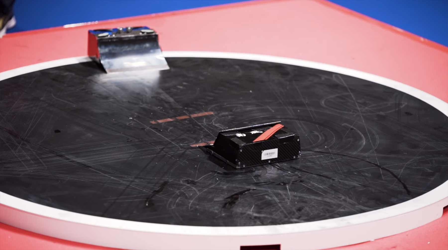 The Freakishly Fast World of Robot Sumo