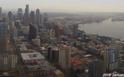 Seattle: 3 Jahre Stadtwandel in 3 Minuten