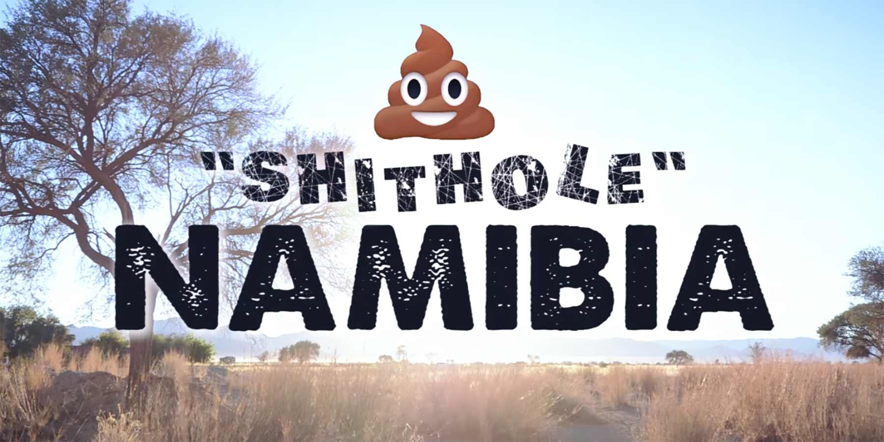 """Namibia bewirbt sich als schönstes der """"S**thole Countries"""""""