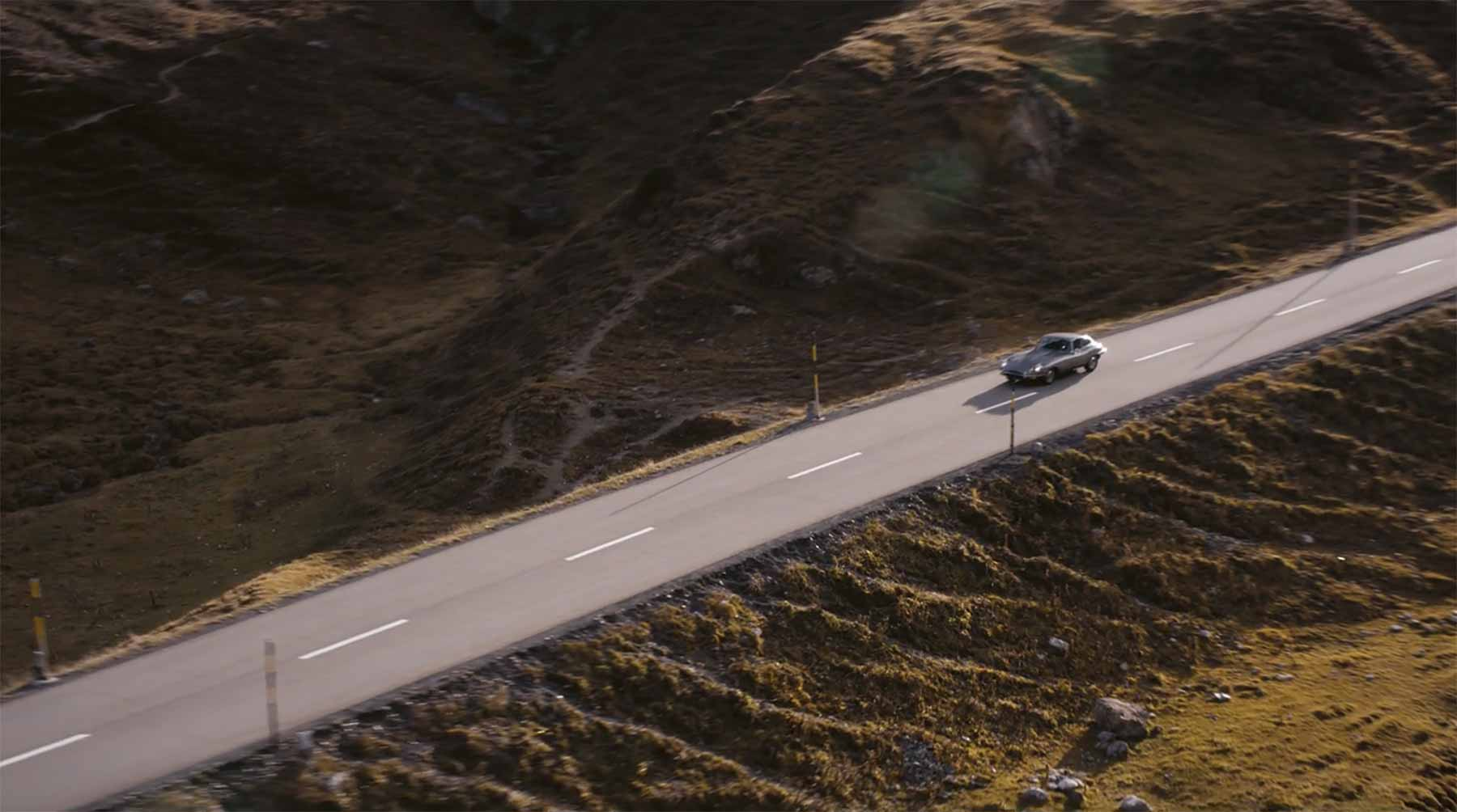 Mit dem Jaguar durch die Schweizer Natur skygarden-kurzfilm