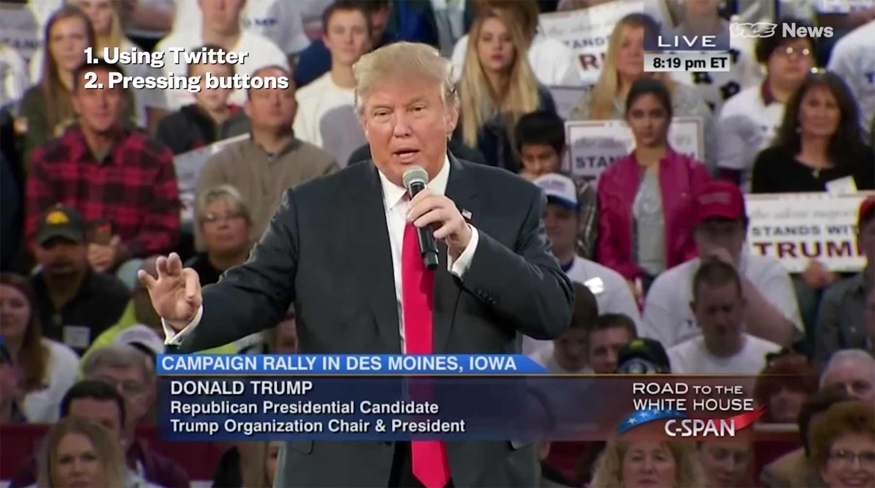Bei Trump macht alles *Bing!*