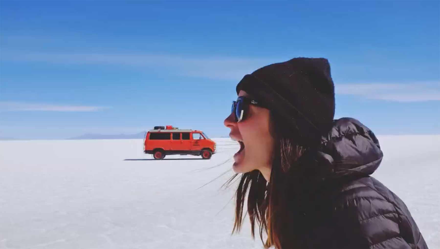 Originelle Stopmotionvideos zum Gebrauchtvan-Verkauf
