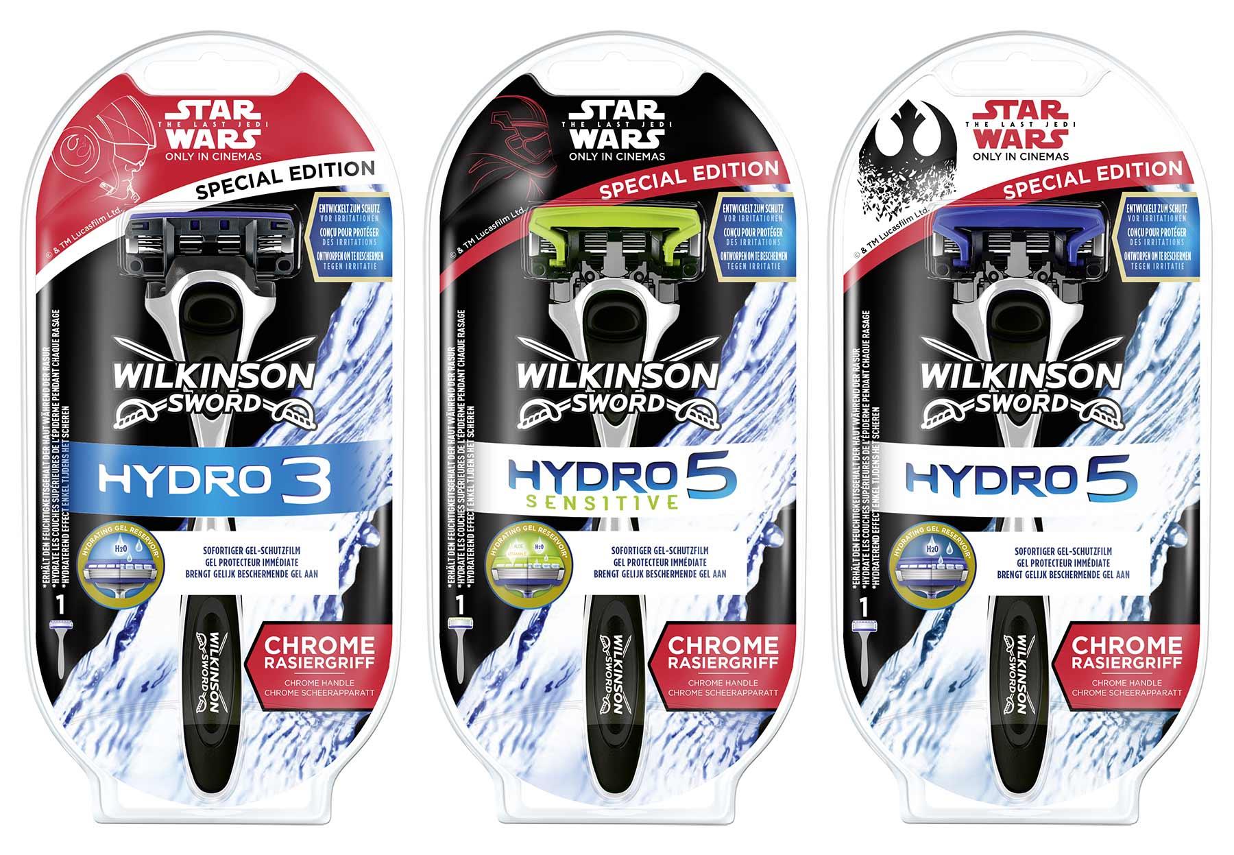 Gewinnt STAR WARS Special Edition-Rasierer von Wilkinson Sword wilkinson-HYDRO-Rasierer-STAR-WARS-Special-Edition