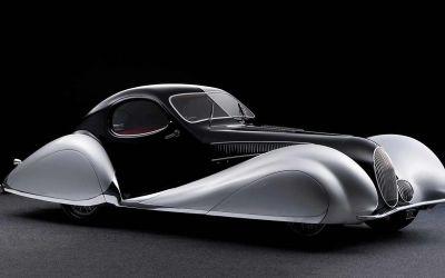 1937 Talbot-Lago T150-C SS Goutte d'Eau Coupé
