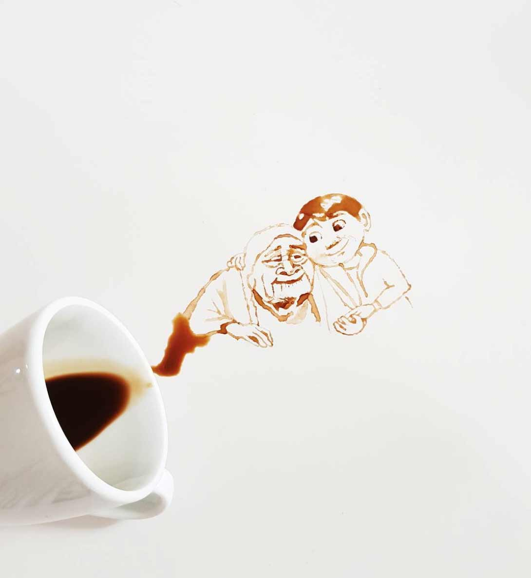 Neue Kaffee-Kunst von Giulia Bernardelli Giulia-Bernardelli-kaffeekunst-2_05