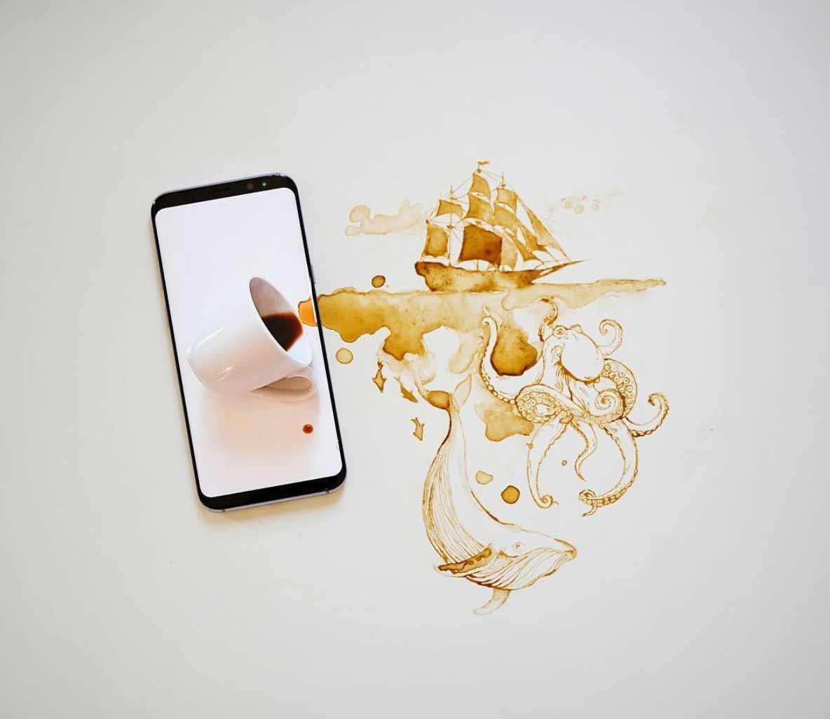 Neue Kaffee-Kunst von Giulia Bernardelli Giulia-Bernardelli-kaffeekunst-2_08